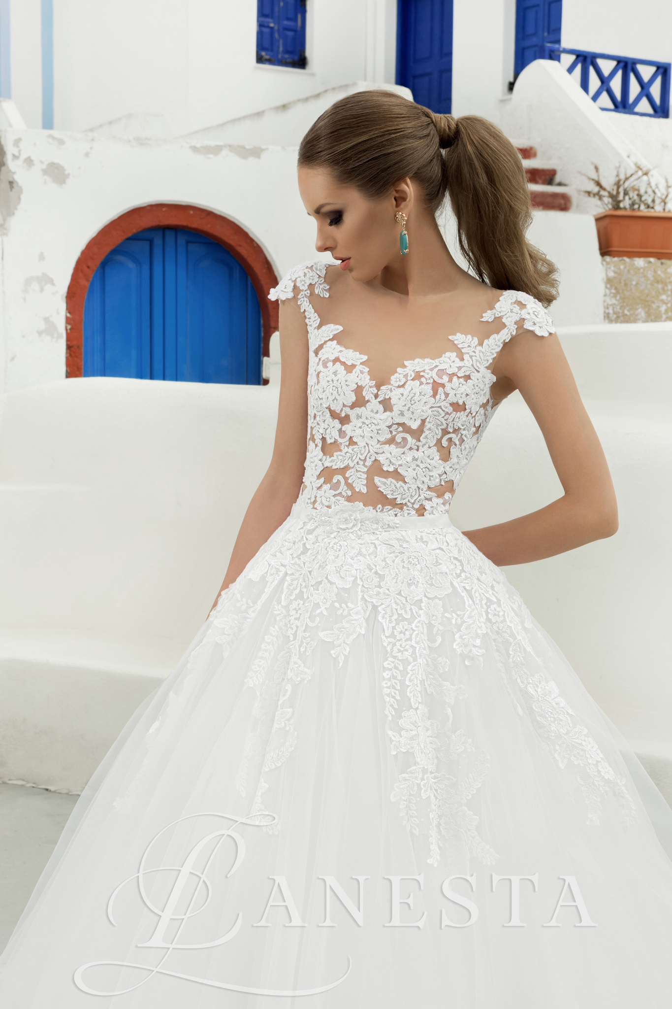 suknia ślubna kolekcji Lanesta - Bjanka