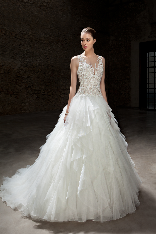 suknia ślubna cosmobella 7845