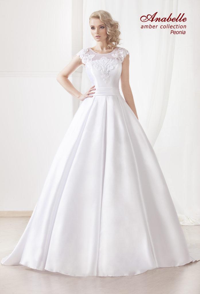suknia ślubna peonia