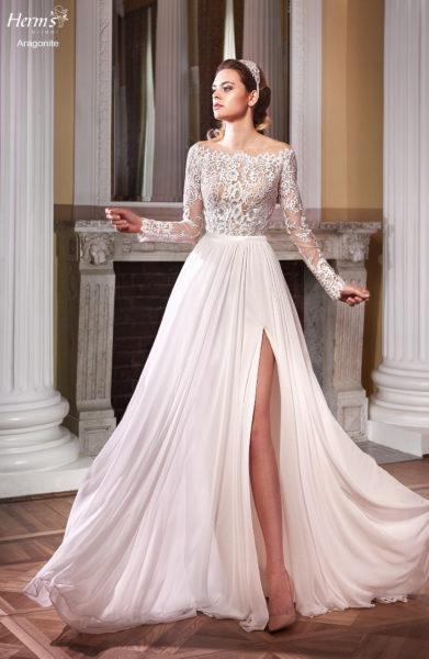 suknia ślubna Aragonite marki Herms