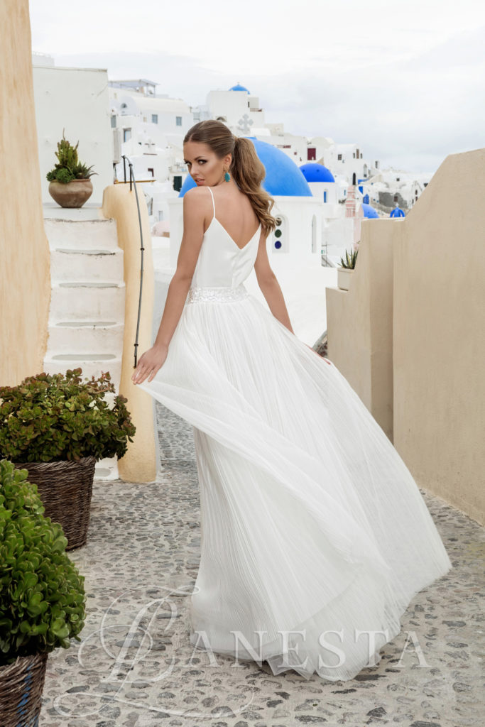 suknia ślubna kolekcji Lanesta - Monik