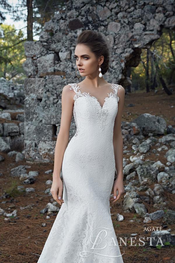 193e438306 ... Suknia ślubna Agate 3 z firmy Lanesta ...