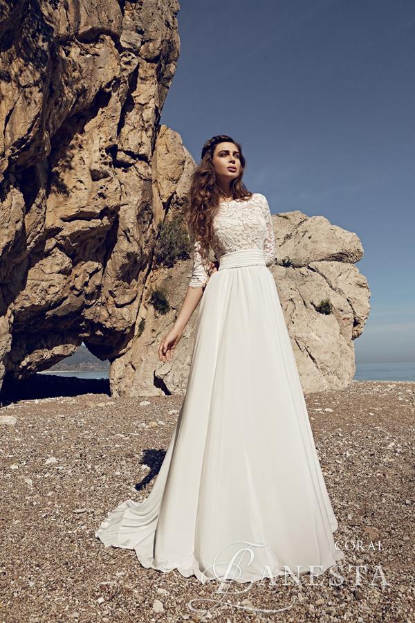 6205cd421e ... Suknia ślubna Coral 1 z firmy Lanesta ...
