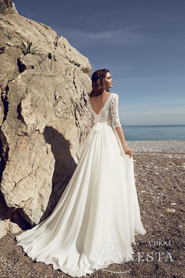 dc7b1fb8c4 ... Suknia ślubna Coral 3 z firmy Lanesta ...